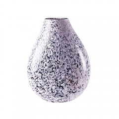 "Ambiente ""Merletto"" Crystal Glass and White Murrine Lamp"