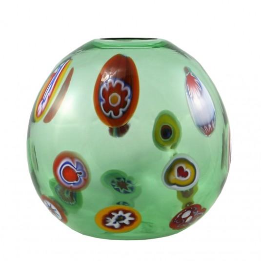 Cirripi, Sphere Vase - Green