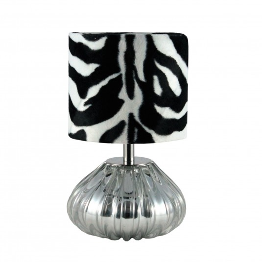 Dogaressa Table Lamp, Chrome Crystal