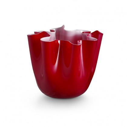 Foulard, Red Vase