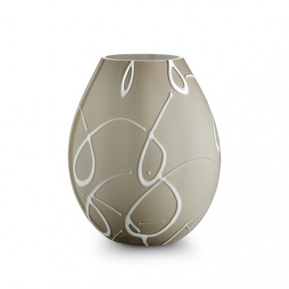 "Ambiente, ""Virgole"" Dove-grey Lamp"
