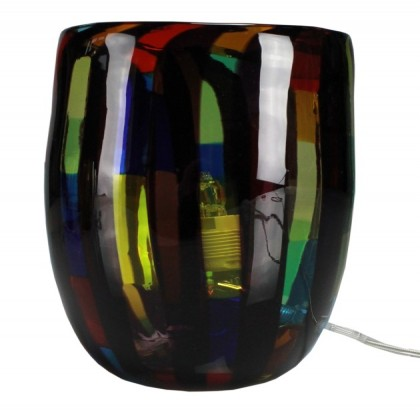 Fantasy, multicolor lamp black