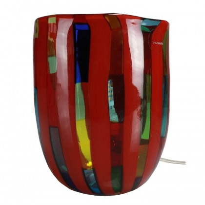 Fantasy, Multicolor Lamp Red