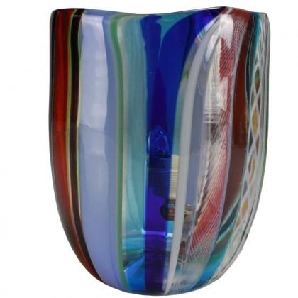 Fantasy, multicolor  lamp light blue