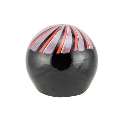 Le Chicche, spiral stripes vase