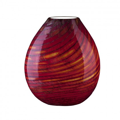 "Loft Lamp ""Bambu"" Red"