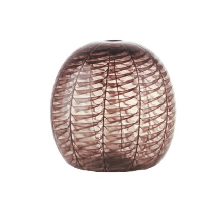 Le Chicche, black sphere vase