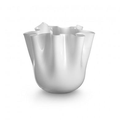 Foulard, White Vase