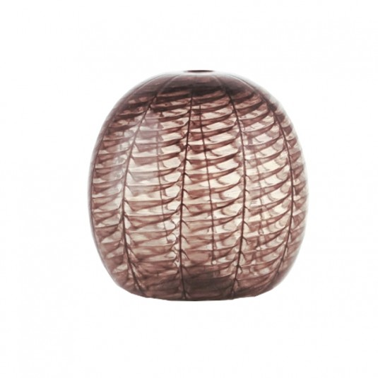 Le Chicche, black sphere vase