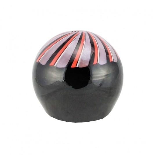 Le Chicche, spiral stripes vase