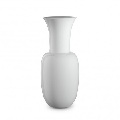 Opali, White Vase
