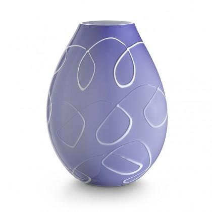 "Ambiente, ""Virgole"" Lilac Lamp"
