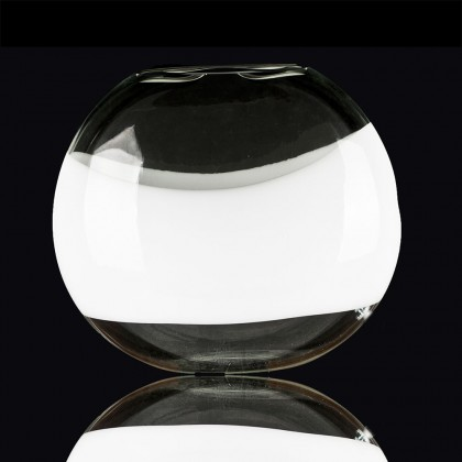 "Oikos Crystal Lamp  ""Mou"" with White Stripe"