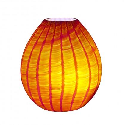 """Loft Lamp """"Squamato"""" Orange"""
