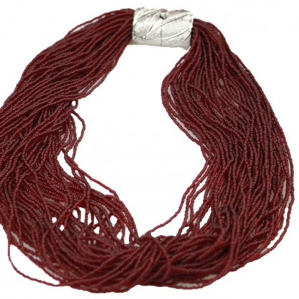 Arianna, collar bordeaux