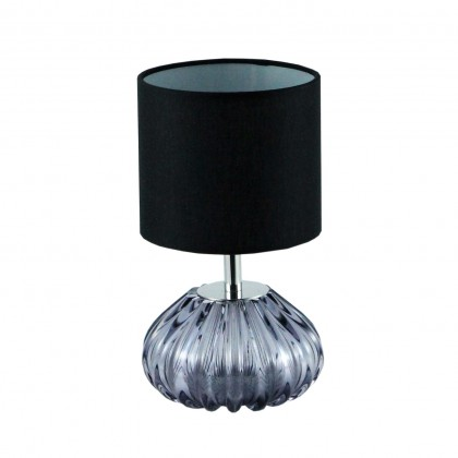 Dogaressa Table Lamp, Grey Crystal