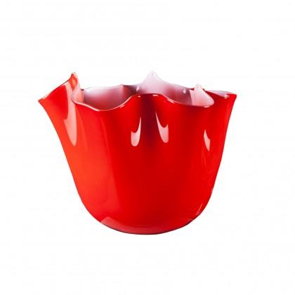 Foulard,Orange Vase
