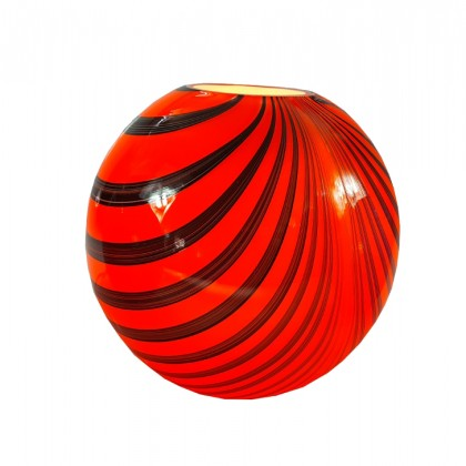 Igloo, Orange Lamp