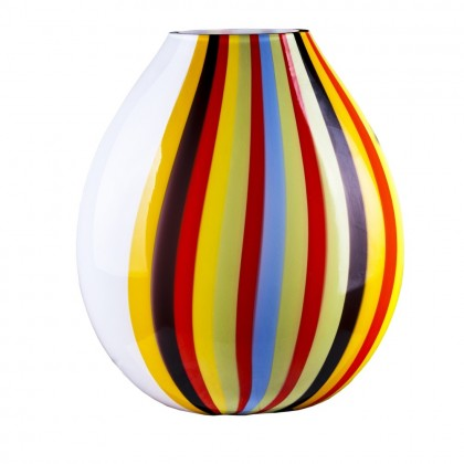 "Loft Lamp ""Lido"" White Multicolor Sticks"