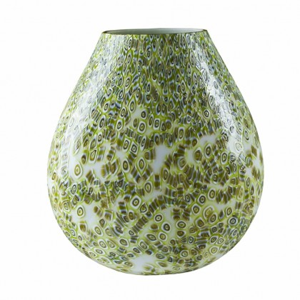 "Loft, ""Murrine"" Green Lamp"